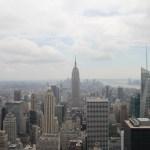 Útsýnið frá Top of The Rock - Empire State Building