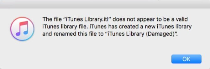 iTunes Library File