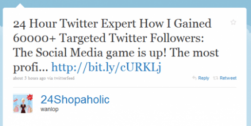 Twitter expert tweet get followers