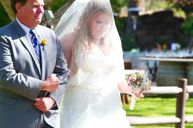 Walnut Grove Wedding Ceremony: Allegra + Paul