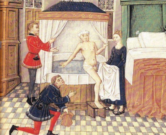 Avais-t-on peur de l'eau au Moyen-Âge ?