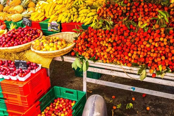 marché Cilaos