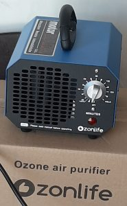 """Generatore di Ozono """"ZONLIFE"""""""
