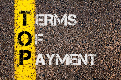 Business Acronym TOP as Terms Of Payment