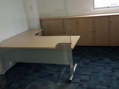 Changhua Construction - L-shaped Executive Desk