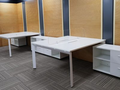 OLS Manufacturing - DE Series System Furniture with Customised Cabinets