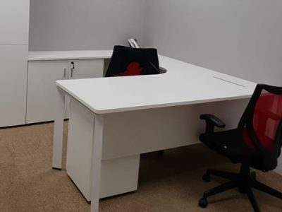 OLS Manufacturing - DE Series L-shaped Work Desk