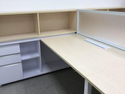 Pan Asia Logistics - AL Series Workstation; Custom-made Open Shelves