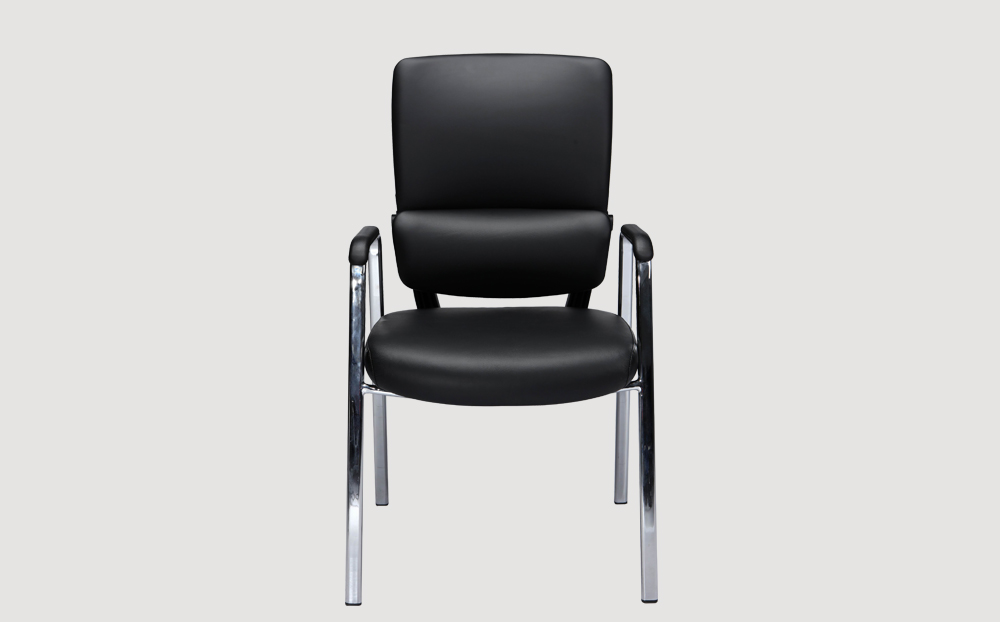 ergonomic mid back office chair black frame black seat chrome chair legs