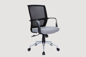 KCA-AB103B1TGSilverPowderCoated_OfficeChair_2