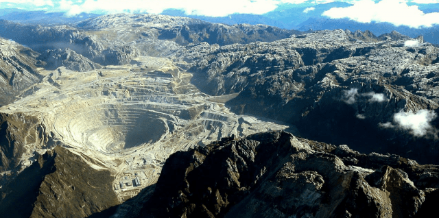 The Grasberg Mine, located near Puncak Jaya in West Papua, is the largest gold mine and the third largest copper mine in the world (Photo: Kadir Jaelani).