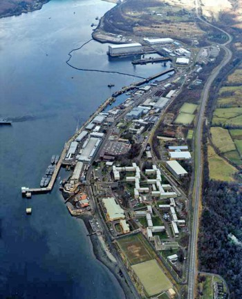 Her Majesty's Naval Base, Clyde.