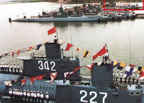 Ming-class submarines.