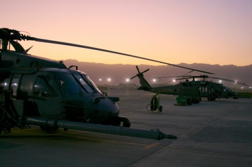 HH-60Gs, Bagram, Afghanistan, October 7, 2009.