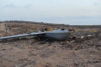 As Predator drone missions have escalated from Camp Lemonnier in Djibouti, so have the number of accidents. Since January 2011, five Predators have crashed while trying to return to the base, like this Predator MQ-1B on the photo on May 17, 2011.