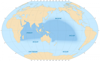 Indo-Pacific Region (Image: Eric Gaba, Creative Commons Attribution-Share Alike 3.0 Unported, 2.5 Generic, 2.0 Generic and 1.0 Generic license).