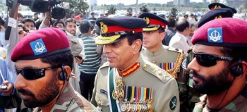 General Ashfaq Parvez Kayani is the current Chief of Army Staff of the Pakistan Army. The Chief of Army Staff of the Pakistan Army is the highest post in the Pakistan Army. He replaced Pervez Musharraf as the leader of the army on November 29, 2007. Between October 2004 and October 2007, he was the Director General of Pakistan's Inter-Services Intelligence. On 24 July 2010, prime minister Yousaf Raza Gillani extended General Ashfaq Parvez Kayani's term as Chief of the Army Staff by three years, making him the first Pakistani four star general to receive a term extension from a democratic government.