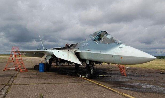 The PAK-FA test program has been aggressive, and meant to bring the aircraft to maturity by 2016. Three prototypes are currently flying with the flight tests – two are used for flight testing at Zhukovsky, a third prototype has recently been delivered to the Russian Air Force 929th Chkalov State Flight Test Centre in Akhtubinsk for testing. A fourth FAK-FA prototype was damaged by fire after a demonstration flight arranged for an Indian delegation. The pilot was unharmed and the fire was extinguished quickly, but the aircraft itself was damaged (see photo above).