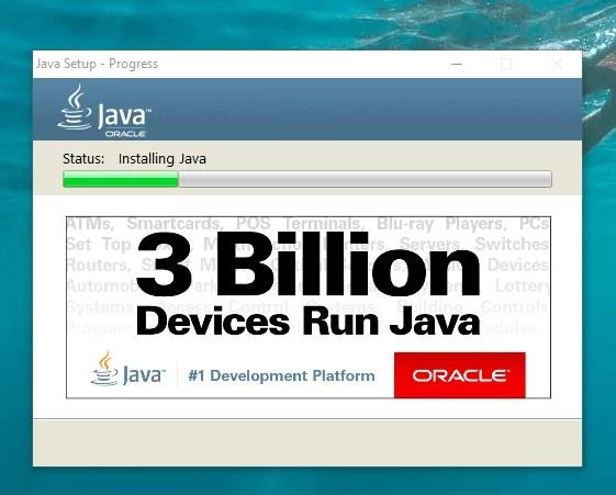 Download Java Offline Installer