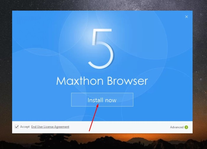 DownloadMaxthon Offline Installer