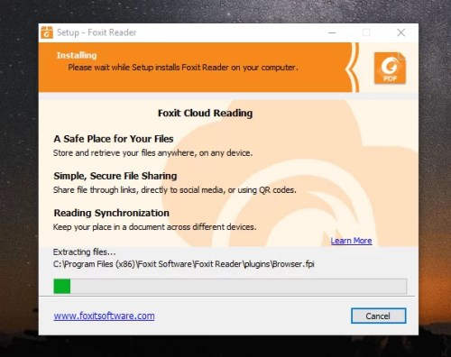Download Foxit Reader Offline Installer