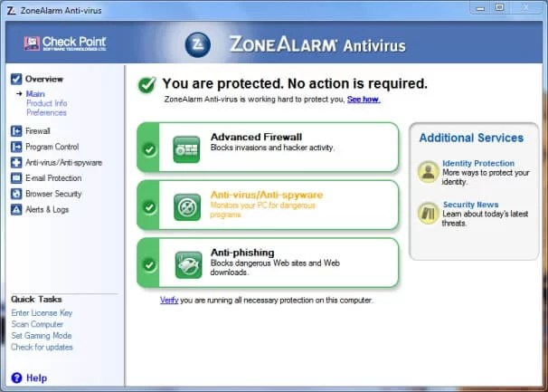 Download Zonealarm Antivirus Offline Installer