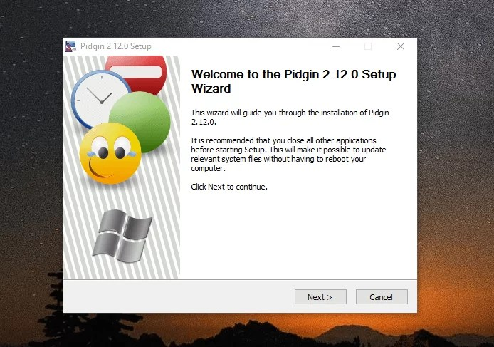 Download Pidgin Offline Installer