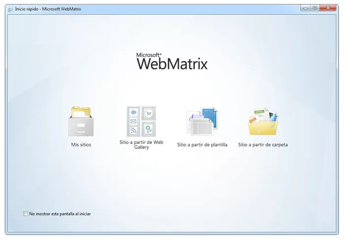 Download WebMatrix Offline Installer