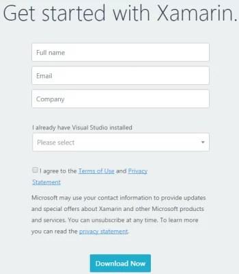 Download Xamarin Offline Installer