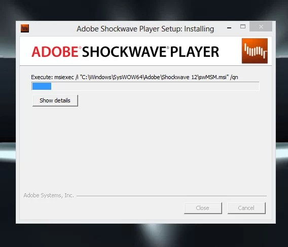 Download Adobe Shockwave Player Offline Installer