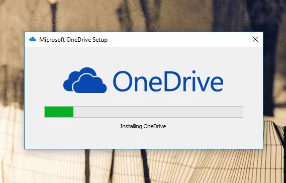 Download OneDrive Offline Installer