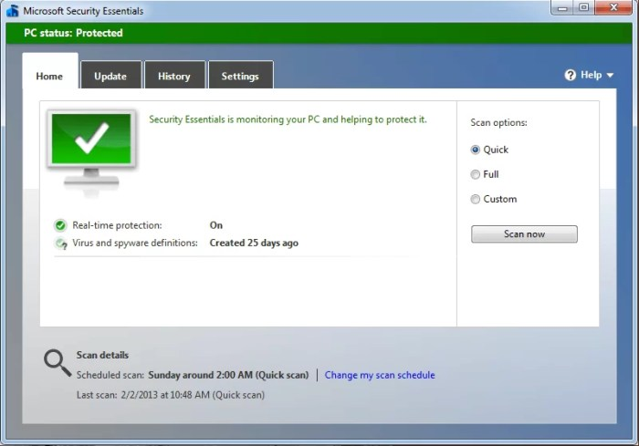 Microsoft Security Essentials Offline Installer