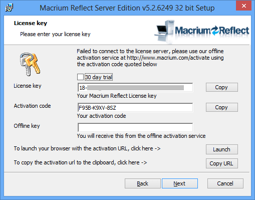 Download Macrium Reflect Offline Installer