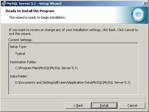 Download MySQL Offline Installer
