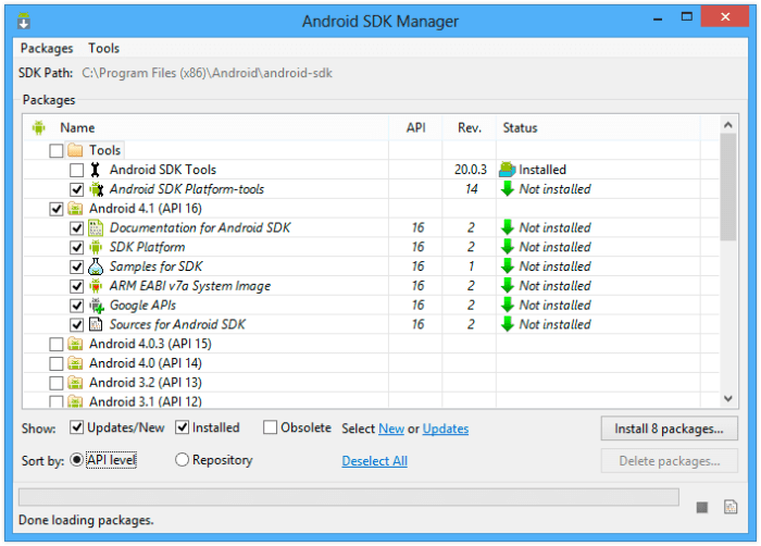 Download Android SDK Offline Installer