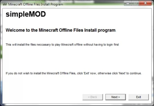 Download Minecraft Offline Installer