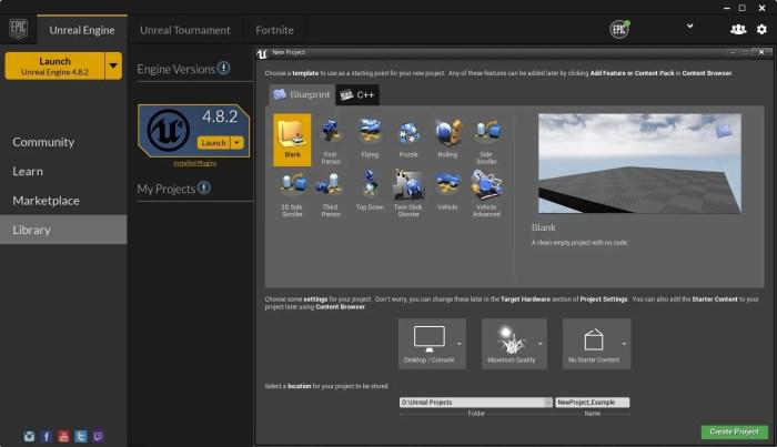 Download Unreal Engine 4 Offline Installer