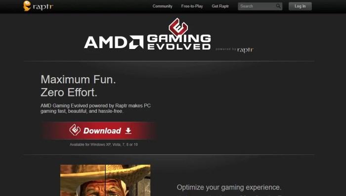 Download AMD Gaming Evolved App Offline Installer