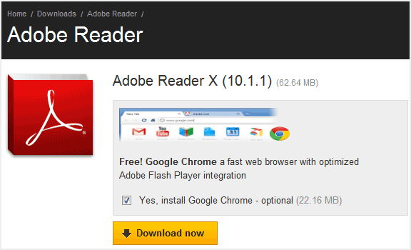 Download Adobe Reader 10 Offline Installer