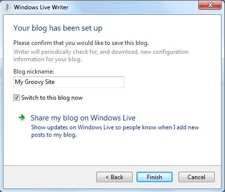 Download Windows Live Writer Offline Installer