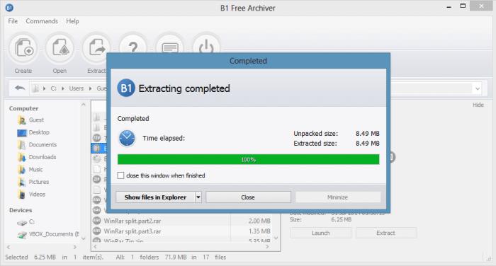 Download B1 Archiver Offline Installer