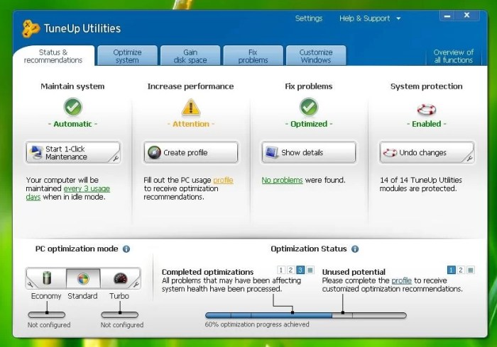 Download TuneUp Utilities 2016 Offline Installer