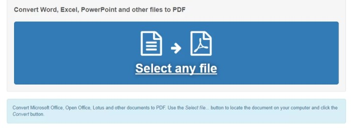 Download Word to PDF Converter Offline Installer