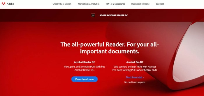 Download Adobe Acrobat Reader DC Offline Installer