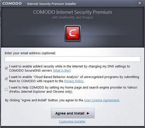Download Comodo Firewall Offline Installer