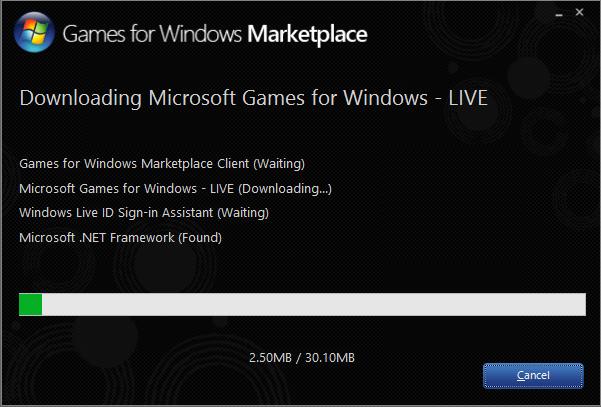 Download Games for Windows Live Offline Installer