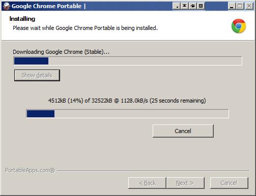 Download Google Chrome Portable Offline Installer