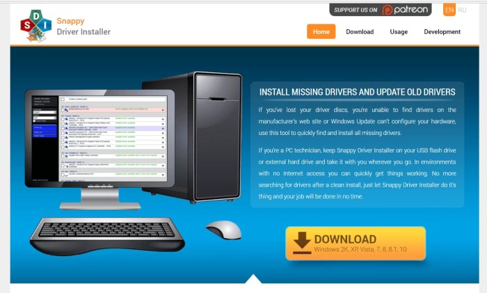 Download Snappy Driver Offline Installer
