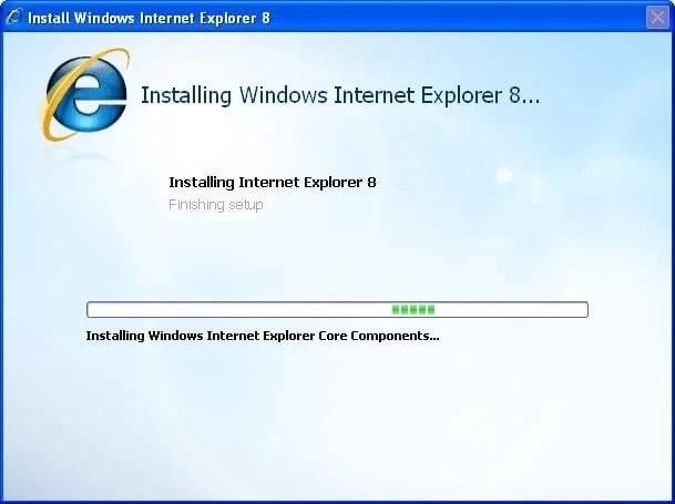 Internet Explorer 8 Offline Installer