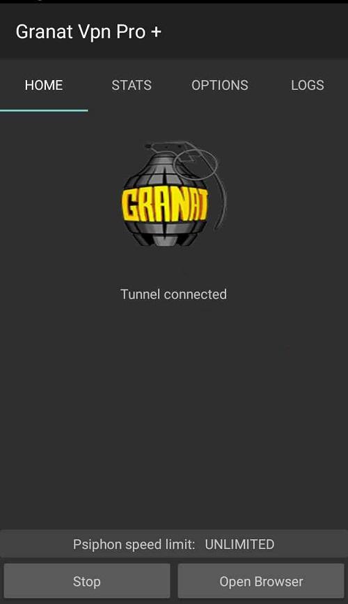 Screenshot-Granat-VPN-Pro-Apk